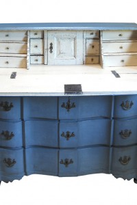 Swedish rococo writing desk