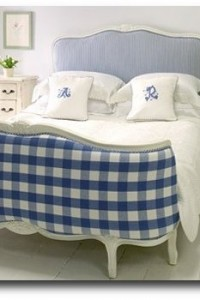 Belle Maison Corbeille Bed- Featured in Swedish Decorated Room With Painted Floors