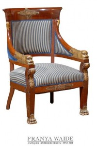 Period Style Empire Chair
