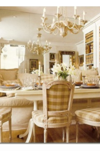 Swedish Dining  From Traditional Home, April 2007