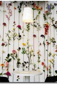 3D wallpaper from an installation by Swedish Deisgn Front Group