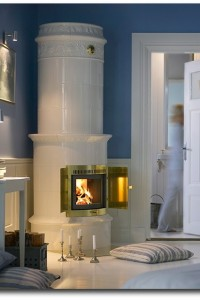 Contura Swedish tile stoves with modern technology