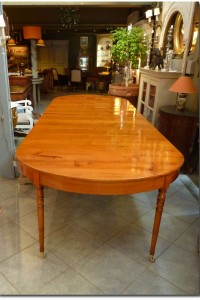 Large Extension Table In Cherry – Charles X