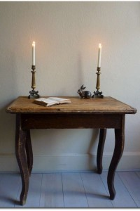 Table Set In Pine