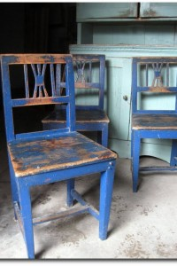 3 Beautiful Country Chairs-Lucas Antiques Blog