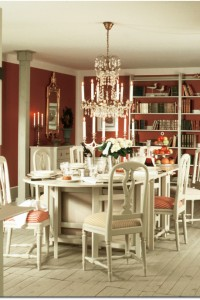 The 1700-collection's Dining Room